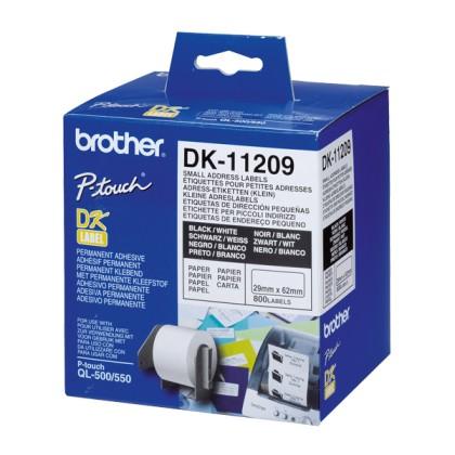 Brother Etichete Adese 62x29 Albe