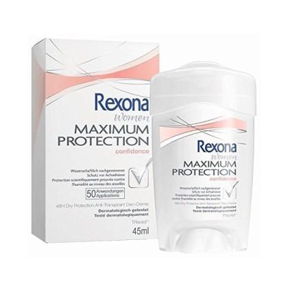 Rexona - MAXIMUM PROTECTION confidence deo crema 45 ml