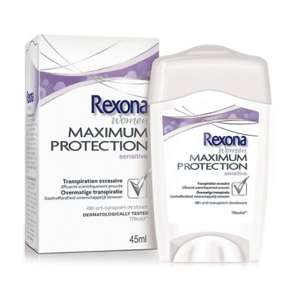 Rexona - MAXIMUM PROTECTION sensitive dry deo crema 45 ml