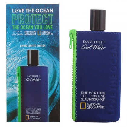 Davidoff - COOL WATER LOVE THE OCEAN limited edition edt vaporizador 200 ml