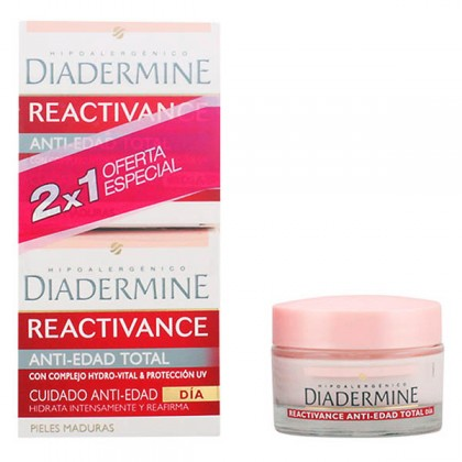Diadermine - REACTIVANCE antiedad TOTAL LOTE 2 pz