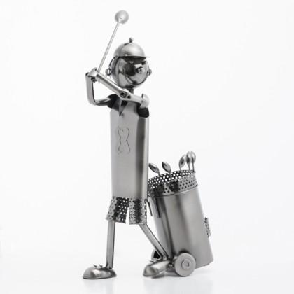 Suport Metalic pentru Sticle Golfer