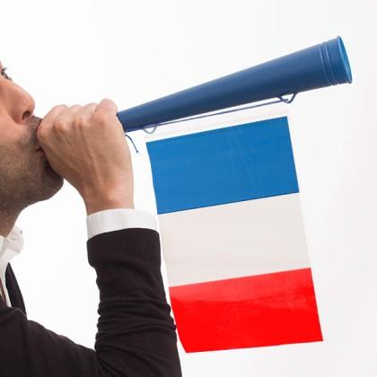 Trompetă Steagul Franţei