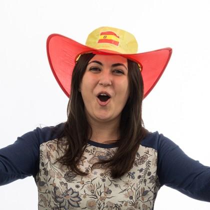 Pălărie Pliabilă Steagul Spaniei