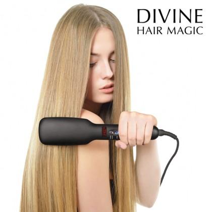 Perie Electrică pentru Îndreptarea Părului Iondict Divine Hair Magic