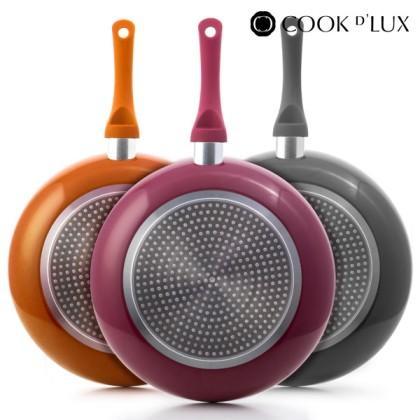 Cook D'Lux Frying Pans (5 pieces)