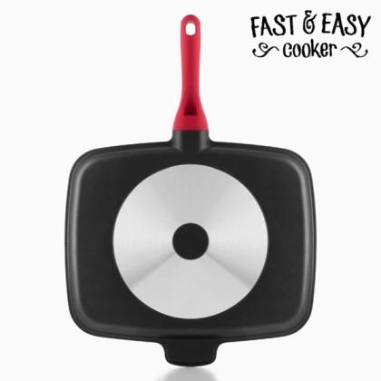 Tigaie Antiaderentă 5 în 1 Fast & Easy Cooker