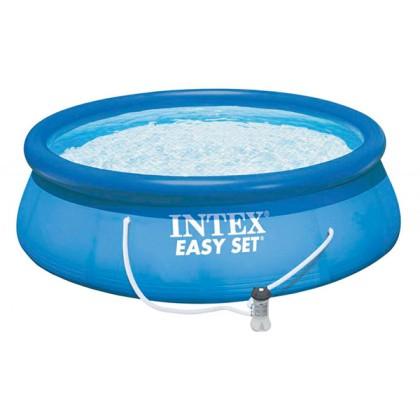 Piscină Circulară cu Pompă de Filtrare Intex