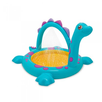 Piscină Gonflabilă cu Duș Dinozaur Intex