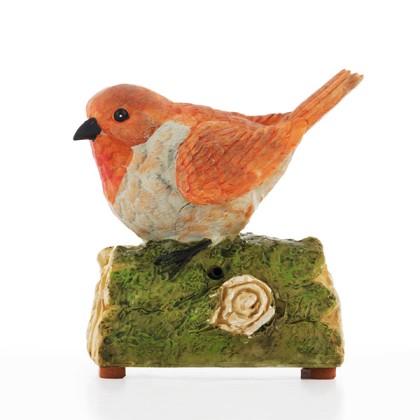 Pasăre Decorativă cu Sunet şi Senzor de Mişcare