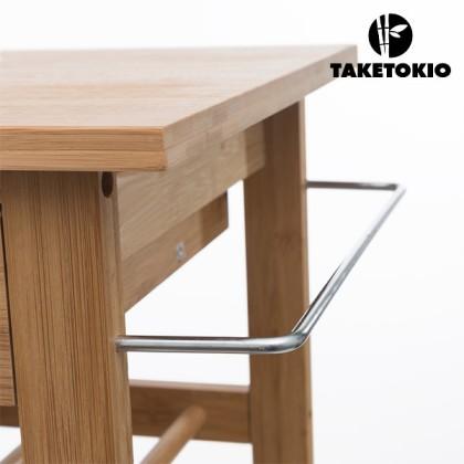Cărucior de Bucătărie din Bambus TakeTokio