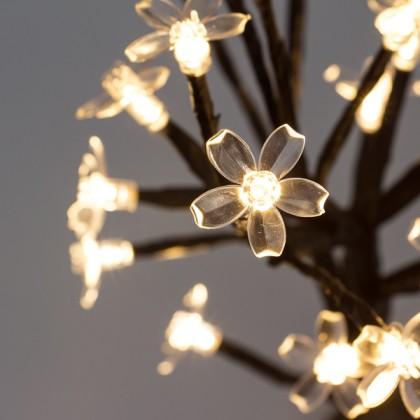 Copac Decorativ cu Flori (24 LED)