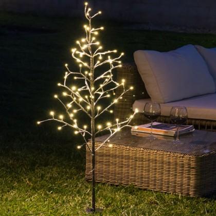 Copac Decorativ cu Zăpadă (96 LED)