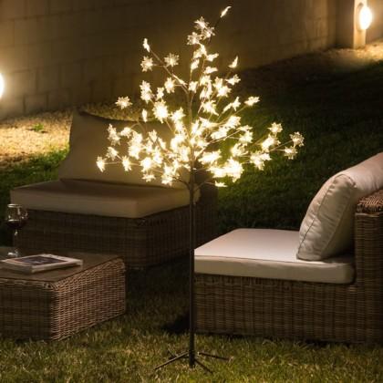 Copac Decorativ cu Frunze (120 LED)