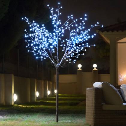 Copac Decorativ cu Flori (350 LED)