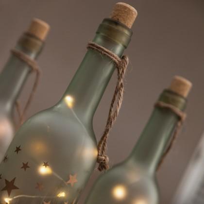 Sticlă cu LED Vintage Coconut