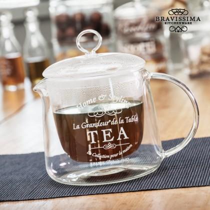 Bravissima Kitchen Double Wall Teapot