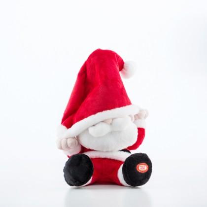 Jucărie de Pluș de Crăciun cu Sunet și Mișcare