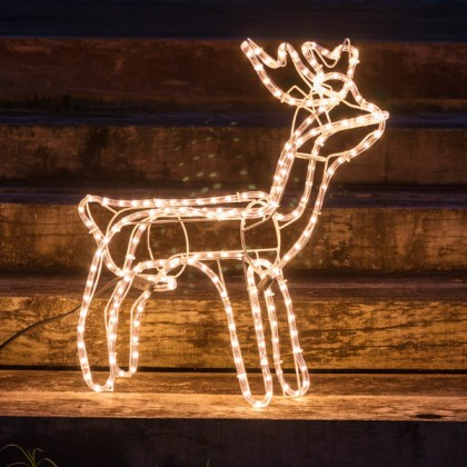Ren de Crăciun (216 LED-uri)