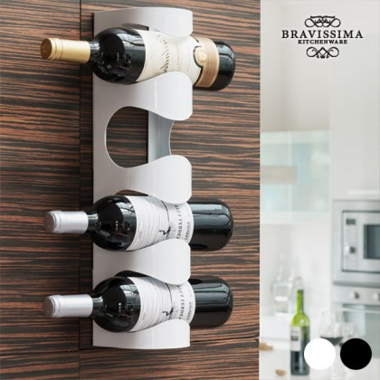 Suport Metalic pentru Sticle de Vin Bravissima Kitchen