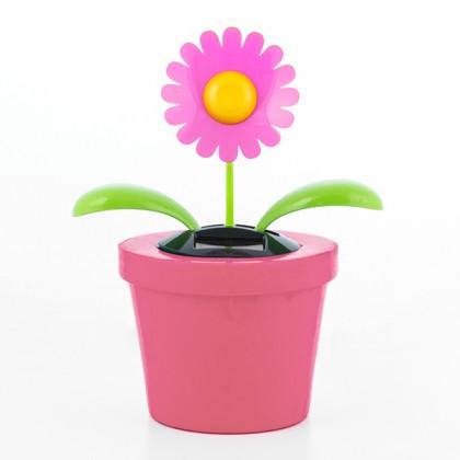 Floare Decorativă Solară cu Mişcare