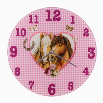Ceas de Perete Love Horses Homania