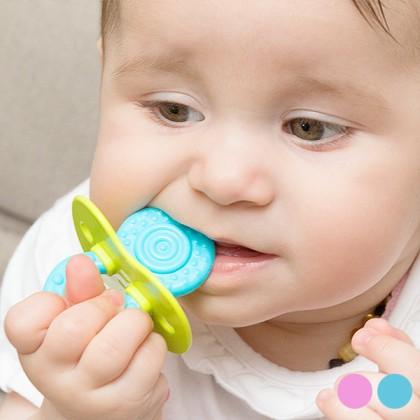 Jucărie Dublă pentru Dentiţie din Silicon