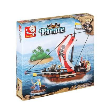 Joc de Construcţie Piraţi (226 piese)