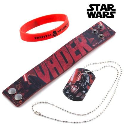 Brățări și Lănțișor Darth Vader (Star Wars)