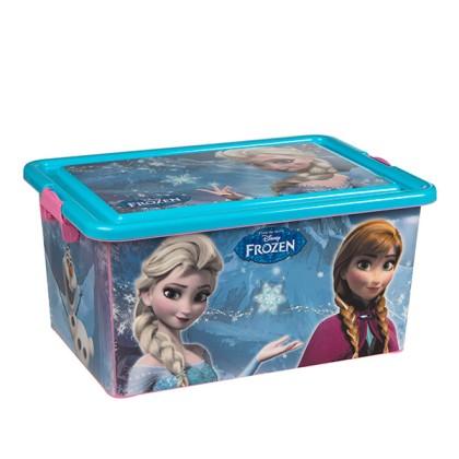 Organizator de Jucării Frozen (45 x 32 cm)