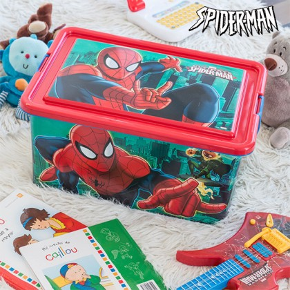 Organizator de Jucării Spiderman (45 x 32 cm)
