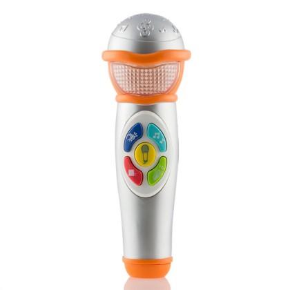 Microfon de Mână cu Lumini şi Sunete pentru Copii