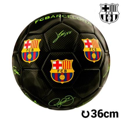 Minge de Fotbal Mini Neagră F.C. Barcelona