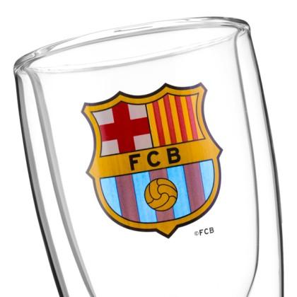 Pahar de Bere cu Fund Dublu F.C Barcelona