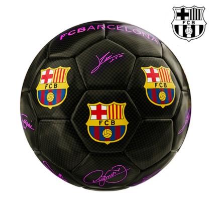 Minge Fotbal Neagră Mărime Medie F.C. Barcelona