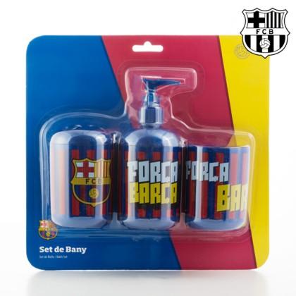 Accesorii de Baie F.C. Barcelona (3 piese)