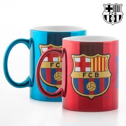 Cană Metalizată F.C Barcelona