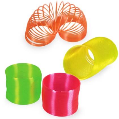 Jucărie Spirală Plastic Neon