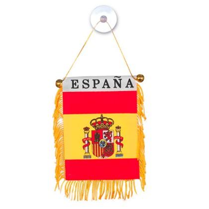 Fanionul Spaniei cu Ventuză
