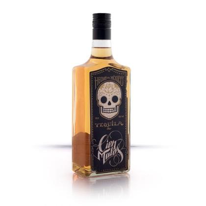 Tequila Golden Cien Malos