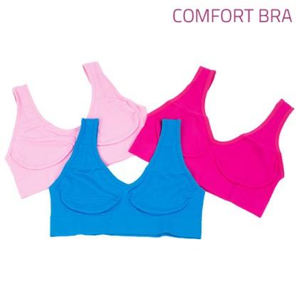 Bustieră Primăvară Comfort Bra (3Buc)