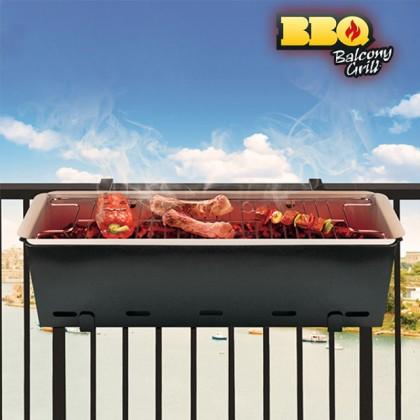 Grătar pentru Balcon cu Cărbune BBQ Quick