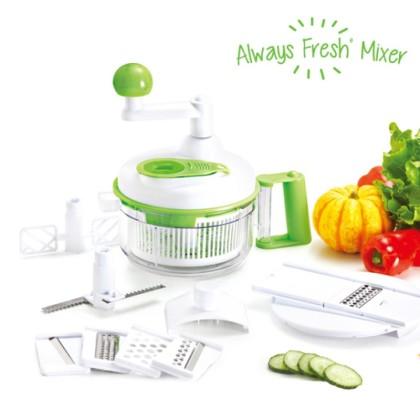 Aparat de Salată Multifuncțional Always Fresh Mixer