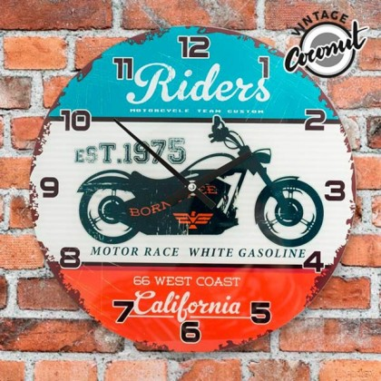 Ceas de Perete California Riders