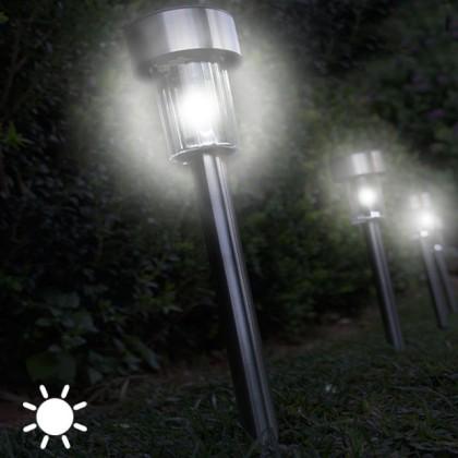 Lampă Solară Circulară Torță (set de 5)