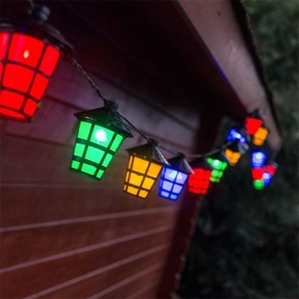 Ghirlandă LED Felinare