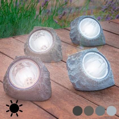 Piatră Solară Artificială (4 LED)