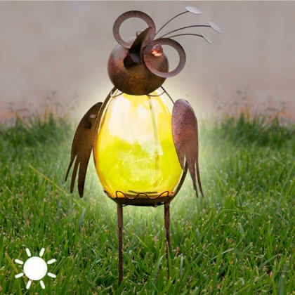 Veioză Solară Decorativă Bird