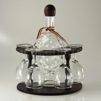 Minibar Cu Sticla SI 6 Pahare-102221