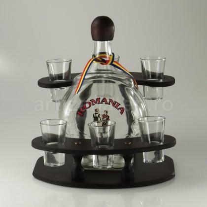 Minibar Cu Sticla Si 6 Pahare-102234